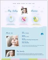 iWeb Template: Baby