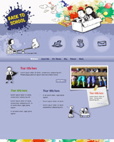 iWeb Template: Back To School