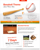 iWeb Template: Baseball