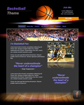 iWeb Template: Basketball