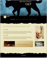 iWeb Template: Cat