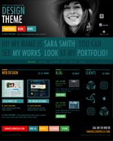 iWeb Template: Design