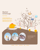 iWeb Template: Easter Theme 2