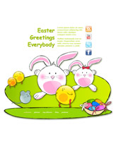 iWeb Template: Easter Theme 3