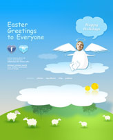 iWeb Template: Easter Theme 5