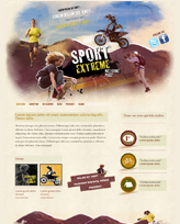 iWeb Template: Extreme Sport