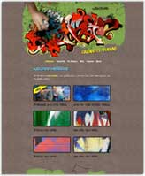 iWeb Template: Graffiti