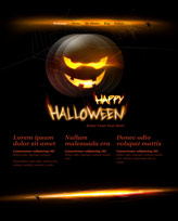 iWeb Template: Halloween Theme 1