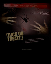 iWeb Template: Halloween Theme 2