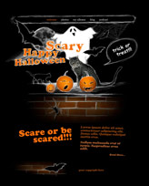 iWeb Template: Halloween Theme 4