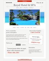 iWeb Template: Hotel