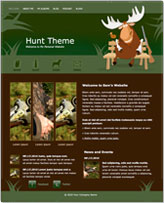 iWeb Template: Hunt Theme