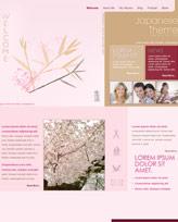 iWeb Template: Japanese Theme