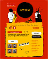 iWeb Template: Jazz Theme