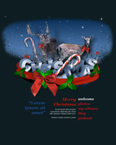 iWeb Template: Christmas 1
