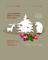 iWeb Template: Christmas 2