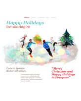 iWeb Template: Christmas 3