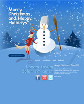 iWeb Template: Christmas 5