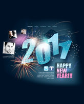 iWeb Template: New Year  2