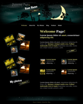iWeb Template: Personal Page Theme