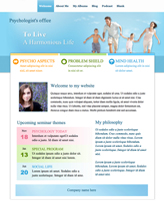 iWeb Template: Psychology