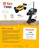 iWeb Template: RC Cars