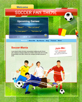 iWeb Template: Soccer