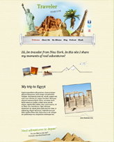 iWeb Template: Traveler