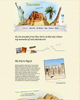 iWeb Template: Traveler
