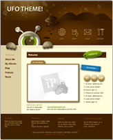 iWeb Template: Ufo Theme
