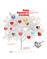 iWeb Template: Valentines Day 2