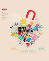 iWeb Template: Valentines Day 3