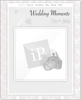 iWeb Template: Wedding Moments