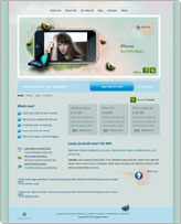 iWeb Template: iPhone