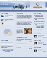 iWeb Template: IT Solutions Theme