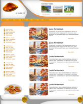 iWeb Template: Amber Theme