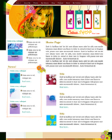 iWeb Template: Beauty Theme