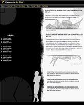iWeb Template: Black and White
