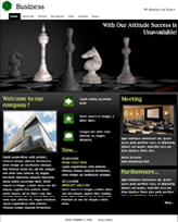 iWeb Template: Chess Theme