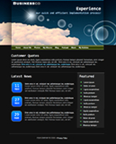 iWeb Template: Clarity Theme