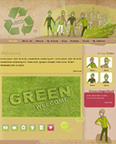 iWeb Template: Eco Theme