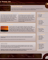 iWeb Template: Eyes Fire