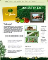 iWeb Template: Garden