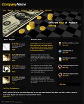 iWeb Template: Money Theme