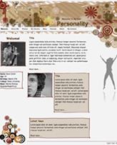 iWeb Template: Personality Theme