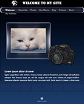 iWeb Template: Photographer