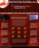 iWeb Template: Red Theme