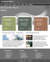 iWeb Template: Ribbon Theme