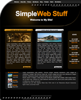 iWeb Template: Simple Theme