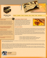 iWeb Template: Treasure Theme